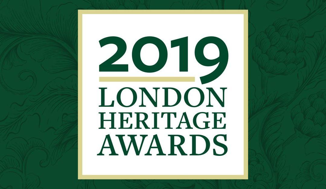 Announcing the 2019 London Heritage Award Honourees