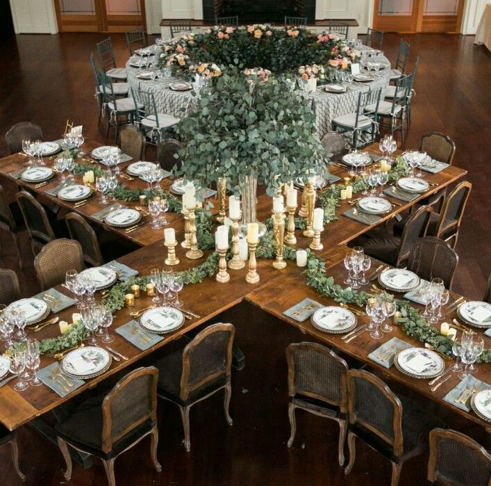 small wedding ideas and table layouts