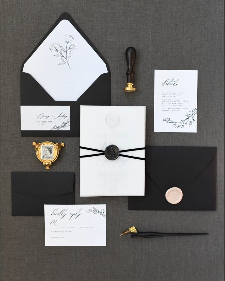 monarch design co custom invitations