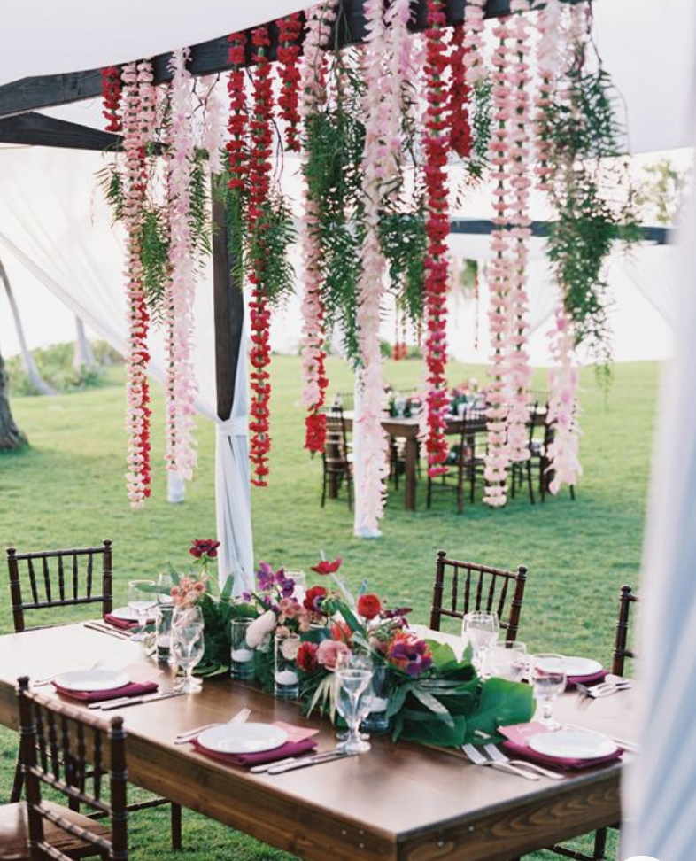 small wedding ideas - overheard florals